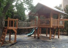 Custom Swing Set and Playset Designs from Jack's Backyard - Jack's Backyard