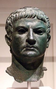 Bronze Portrait of a Man Identified as Marcus Agrippa. It was discovered in 1904, near the Arch of Augustus in Susa, a town in northern Italy not far from Turin. The identification of the head as that of Marcus Agrippa appears to be confirmed by an inscribed stone base that was also discovered. Agrippa was one of Augustus' closest friends and supporters, who played a role in the civil wars during the 30s BCE.