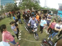 Female Riders getting to experience motorcycle riding @royalenfield and @delhi_royal_enfield_riders Frider workshop! The event embarks the entry of women's league into the RE Himalayan odessey 2017 #HO2017  Tag your pics and videos with @wheelsguru to be featured. Follow #wheelsguru @shahnawazkarim click the link in the bio  #advrider #adventure #dualsport #adv #enduro #makelifearide #advaddicts #moto #offroad #advlife #instamotor #dualsportlife #touratech #rideandshare #wanderlust…