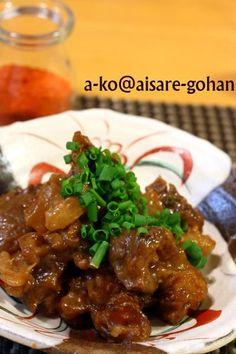 """大阪名物♪「牛すじ""""どて焼き""""」 by ATSUKO KANZAKI (a-ko)さん ... Beef, Cooking, Recipes, Junk Food, Japanese Food, Meat, Kitchen, Recipies, Japanese Dishes"""