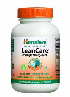 Himalaya Herbal Healthcare LeanCare, Weight Management, 120 Vegetarian Capsules