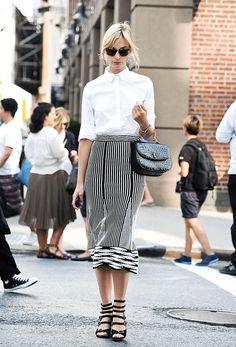 #StreetStyle El par más obsesivo de la moda inspira los mejores looks de impacto. http://buff.ly/1zQMg9G