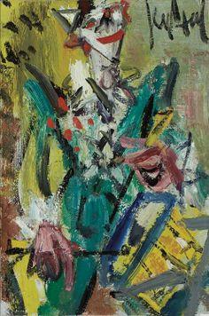 Untitled (Clown with Drum) - Gen Paul (1895-1975)  - Pinterest