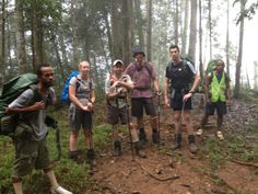 Golden Stairs, Kokoda Track, Papua New Guinea: Our trekkers and porters taking a break on a section of the stairs. Take A Break, Papua New Guinea, Trek, To Go, Hiking, Stairs, Places, Pictures, Walks