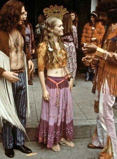 Flower Power: #Flower #Power ~ 1960s hippie fashion.