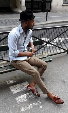 trends4men: STREETSTYLE. Perfect fitting and great style.