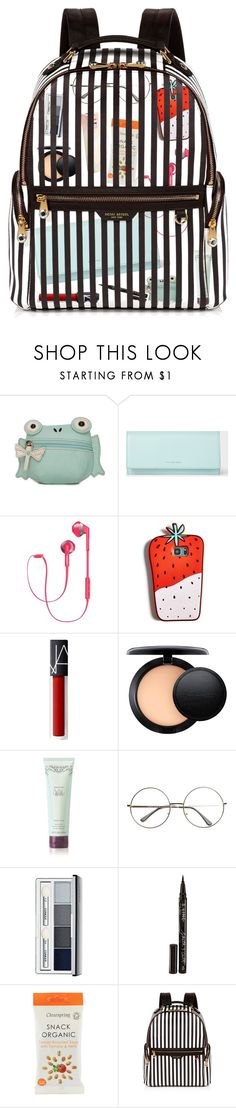 """""""Whats in my bag"""" by stevie-pumpkin ❤ liked on Polyvore featuring Kim Rogers, PS Paul Smith, Philips, Celebrate Shop, MAC Cosmetics, Clinique, Smith & Cult, LMNT and Henri Bendel"""