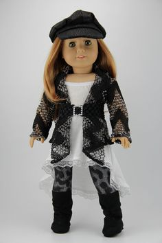American Girl doll clothes 4 piece slouchy by DolliciousClothes