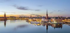 Stockholm is the capital city of Sweden and is made up of over 14 islands that are connected by countless bridges. Water is an integral part of the city, but so are parks and gardens.