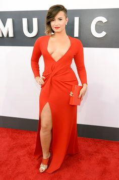 demi lovato vma 2014 | Demi Lovato - Red Carpet 24/7 - Us Weekly