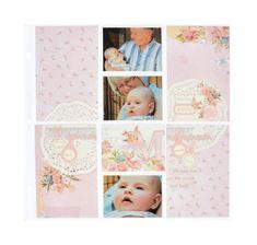 KaiserCraft Little One Clear Stamp ~ Baby Peek a Boo Boy Girl Babies