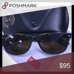 Authentic New Wayfarer Tortoise Shell Ray Bans NWOT! Not a scratch on these beauties! Ray-Ban Accessories Sunglasses