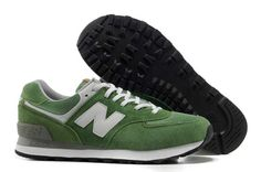 Womens - New Balance 574 Olympic Five Rings White Green