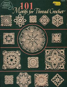 101 motif thread crochet  Crochet