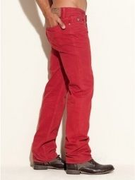 I have red pants but I can never figure out what to where them with.