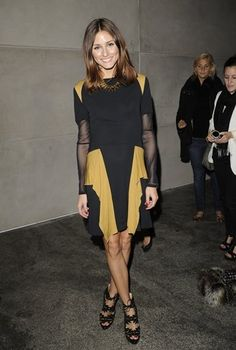 Olivia Palermo at Matthew Williamson September 19, 2010