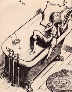 Illustration by Robert McCloskey of Homer Price Robert Mccloskey, Children's Book Illustration, Book Illustrations, Children's Picture Books, Vintage Children's Books, Children's Literature, Childrens Books, Book Art, Character Design