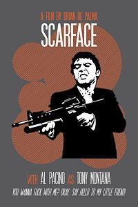 Scarface Poster Tony Montana Print Quote Say Hello To My Little Friend Poster In 2020 Friends Poster Poster Fine Arts Posters