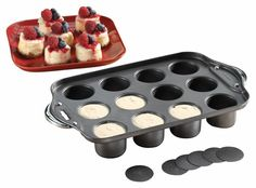 10 Baking Pan for Mini Dessert Madness!  You all know that I am a huge fan of mini desserts! I've rounded up a list of my favorite pans for baking up the cutest desserts. #ad