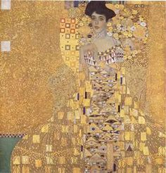 Gustav Klimt: Portrait of Adele Bloch-Bauer I, 1907