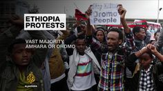 Security forces accused of shooting dead people in Oromia and Amhara regions in attempt to suppress wave of protests.
