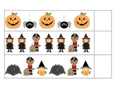 dogs math and literacy file folder games for centers or stations kindergarten - Halloween File Folder Games