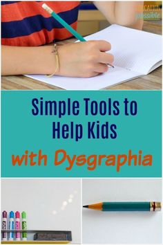 Is writing a struggle for you child? There are many ways you can help a teach kids with writing difficulties improve the Dyslexia Activities, Dyslexia Teaching, Learning Disabilities, Writing Activities, Kids Writing, Teaching Writing, Teaching Kids, Kids Learning, Essay Writing