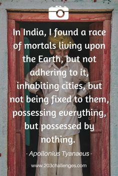 25 quotes about India explaining why people love this country | 203Challenges