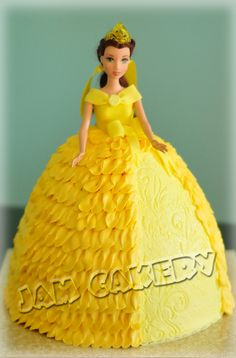 Princess Barbie cake. Kellie we could make this for sure.