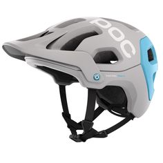 Geared for aggressive trail riding and enduro racing, the well-ventilated POC Tectal Race SPIN bike helmet incorporates an aramid bridge system to give your cranium robust protection. Available at REI, Satisfaction Guaranteed. Mountain Bike Helmets, Mountain Bike Shoes, Mountain Biking, Blue Mountain, Cycling Helmet, Bicycle Helmet, Motorcycle Helmet, 21 Tattoo, Upcycle