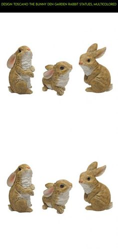 Design Toscano The Bunny Den Garden Rabbit Statues, Multicolored #tech #decor #outdoor #gadgets #racing #fpv #technology #drone #plans #shopping #rabbit #parts #products #kit #camera