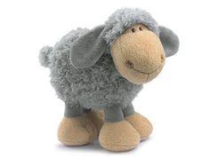 Peluche Mouton Nici Hauteur 18cm Sheep gris: Amazon.fr: Jeux et Jouets
