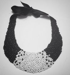 B&W necklace
