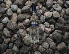 FINLANDIA VODKA MOTION STILLS Camping Set, Direct Marketing, Be Still, Drink Bottles