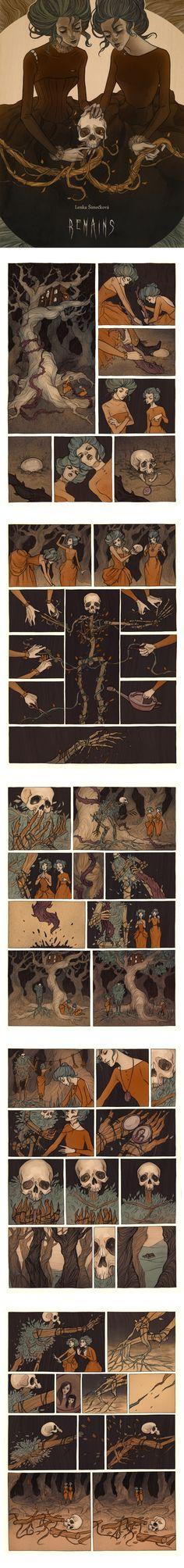 Remains by MadLittleClown.deviantart.com on @DeviantArt