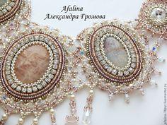 "Necklace beads handmade.  Fair Masters - handmade necklace ""Son of Angelica.""  Handmade."