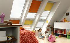 Grosse Fensterfläche im Dach