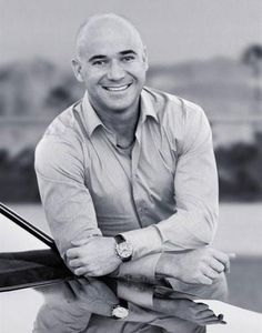 Andre Agassi - love this one of him!