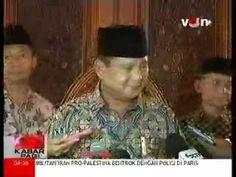 Prabowo Minta Nasehat Mantan Presiden BJ Habibie