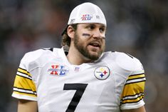 What not to do when shaving: The shaved neck makes you look like you have a double chin. (Example A. Ben Roethlisberger)