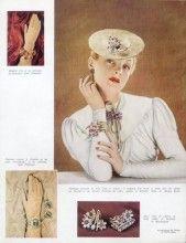 Van Cleef & Arpels (Jewels) 1939 Hermès Gloves, Mauboussin Dusausoy Chaumet