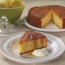 Lemon Yoghurt Cake - Quick to make this cake is sure to be a winner, serve with lemon syrup as an extra special treat.
