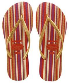 c83ef896f Check out the deal on havaianas slim stripes  red at Agua Viva USA