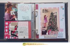 Merry Christmas everyone!  I hope you are having a wonderful day!!   What a better day to show you some pages from my December Daily album t...