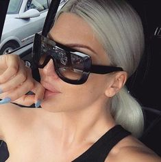 021bb153169 Oversized Large Frame Kim Kardashian Shield Visor Big Flat TOP Fashion  Sunglasse  sunglasses  Oversized