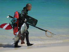 Spearfishing. Lanikai Beach, Oahu, Hawaii Oct 2006 | Flickr - Photo Sharing!