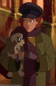 Anastasia and Pooka :) I Know not Disney but still. Princesa Anastasia, Disney Anastasia, Anastasia Film, Anastasia Cosplay, Anastasia Romanov, Anastasia Cartoon, Disney Pixar, Disney Animation, Disney And Dreamworks