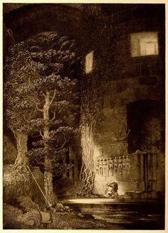 Sidney Sime - There The Gibbelins Lived And Discreditably Fed (1912) | by Aeron Alfrey