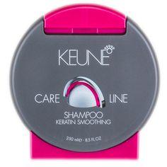 Keune Keratin Smoothing - Shampoo 250ml  Shampoo para cabelos com alisamento ou progressiva.