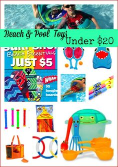 Pool  Beach Toys for Under $20